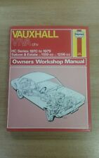 VAUXHALL VIVA OHV 1970 TO 1979 HAYNES WORKSHOP MANUAL 047 IN GOOD COND FREE P&P