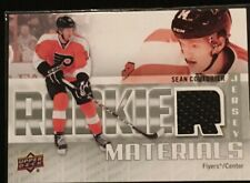 11/12 Upper Deck Sean Couturier Rookie Materials Jersey Philadelphia Flyers