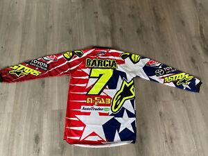 Maglia JUSTIN BAMBAM BARCIA 7  Mxon Supercross racer jersey shirt