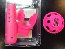 Scubapro S600 color kit, mouthpiece & hose protector HOT PINK