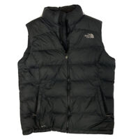 The North Face Women's Black 700 Down Full Zip Puffer Vest Size Large