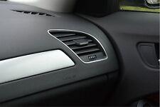 Audi A4 A5 S4 RS4 S5 RS5 Alu 2 Zierrahmen Lüftungsdüsen Quattro S-line 8K B8 8T