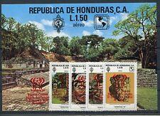 Honduras 937/40 Block 31 postfrisch / Fußball ............................1/2383