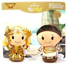 Hallmark Wonder Woman Hippolyta Princess Diana of Themyscira LE Itty-Bittys Set!