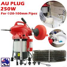 Electric Drain Cleaner Dredging Machine Rigid Plumbing Sewerage Pipe HWCC69380