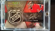 2007/08 UPPER DECK THE CUP DUAL NHL SHIELDS AUTO 1/1 ROOKIE CAREY PRICE /BERNIER
