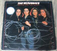 The Runaways - Waitin' For The Night, LP-12'', 33rpm, vinyl,