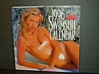 1996 Sports Illustrated 18 month XXL Swimsuit Calendar Deluxe Oversize VGC