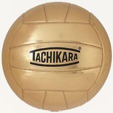 Tachikara Metallic Gold Autograph Volleyball New