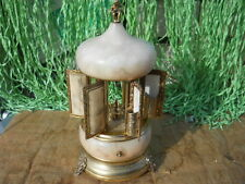 Vintage SIMO Wind Up Musical Carousel Cigarette Lipstick Holder Love Story Italy