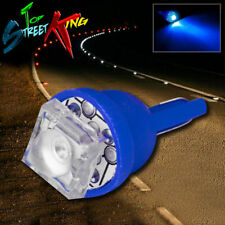 1 SUPER FLUX LED T10 W5W 194 168 BLUE INTERIOR DOME WEDGE LIGHT BULB UPGRADE