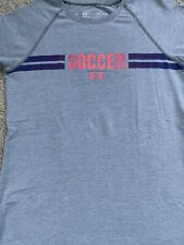 girls under armour Soccer shirt medium Loose Heat Guard