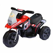 MOTO ELETTRICA PER BAMBINI MOTO POCKET 6V CON SUONI E LED LMT LT853 ROSSA