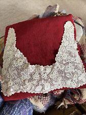 More details for antique irish crochet lace collar