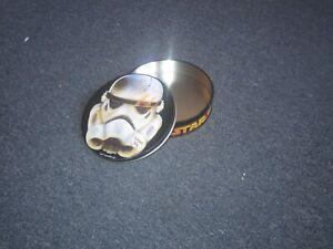 Star Wars Stormtrooper head toffee tin