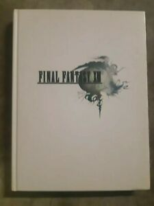 Final Fantasy XIII le guide officiel complet edition collector livre PS