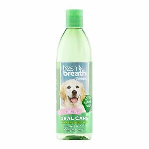 TropiClean Oral Care No Brush Water Additive Fight Plaque Tartar For Puppies