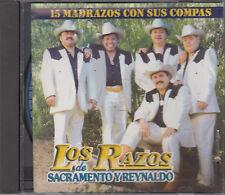 Los Razos de Sacramento Y Reynaldo 15 Madrazos Con Sus Compas CD Latin