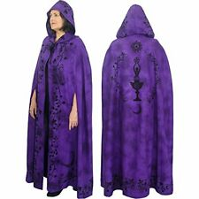The New Age Source Ritual Cotton Cloak Moon Goddess Purple