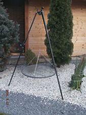 Schwenkgrill Grill Dreibein 80 cm handarbeit mit Kurbel