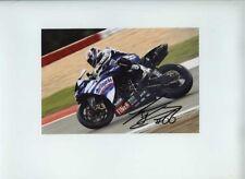 Tom Sykes Yamaha WSB Nurburgring 2009 firmado 2
