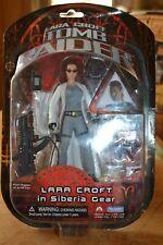 "6"" Lara Croft in Siberia Gear Tomb Raider Playmates action figure BNIB Collector"