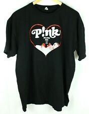 PINK P!NK Blow Me One Last Kiss 2013 Truth About Love Black T-Shirt Size XL