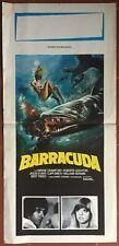 Poster Italian barracuda Jason Evers Wayne Crawford Harry Kerwin