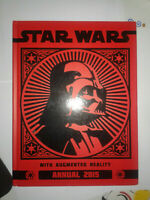 STAR WARS WITH AUGMENTED REALITY ANNUAL 2015 BOOK HARD COVER Chang-teh Wu