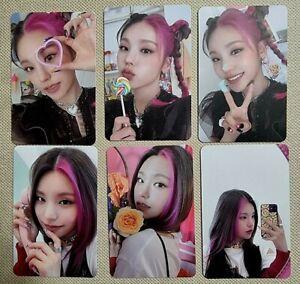 [ ITZY ] YEJI Official Photo Card Itzy 1st Album Crazy In Love Genuine K-POP