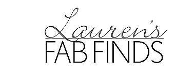 Lauren's Fab Finds