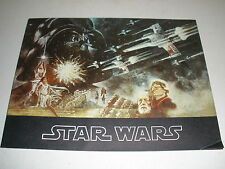 Star Wars Souvenir Program Vintage 1977 Complete Approx. 9 x 12 Sharp Colors