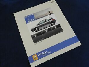 catalogue depliant renault megane campus 2006