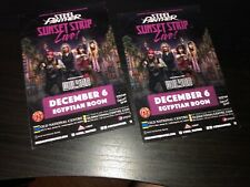 Steel Panther  -2 Promo Flyer/Handbills(12-06-18)Live at Egyptian Room,INDY