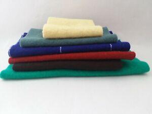 Wool Bundle ~ 6 remnant pieces