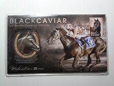 2013 - Black Caviar Stamp Medallion PNC