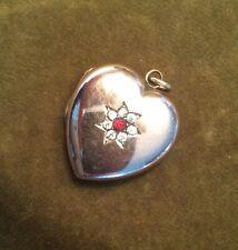 Antique Gold Heart Locket