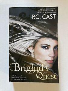 Brighid's Quest P. C. Cast Paperback Partholon Book 2 Free Post YA Paranormal