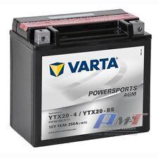 Varta Motorradbatterie-Funstart AGM YTX20-BS 12V 18AH 260A 518902