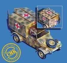 """CMK 1/35 VW Type 21 """"Kastenwagen"""" Conversion Set with Decals (for Tamiya) 3010"""