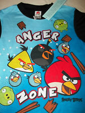 ANGRY BIRDS  2 PIECE SUMMER PAJAMA SET SHORT SLEEVES with SHORTS   M (8-10)