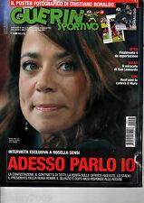 GUERIN SPORTIVO=N°45 2009=INTER=MILAN=DDR=POSTER FOTOGRAFICO C.RONALDO=FILM CAM.