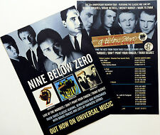 4 X NINE BELOW ZERO 2014 REUNION TOUR FLYERS - LIVE AT THE MARQUEE THIRD DEGREE