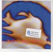 (DL635) Wave Machines, Ill Fit - 2012 DJ CD
