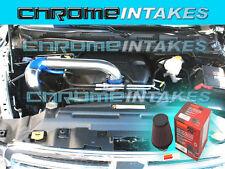 2009 2010 2011-2013 2014 DODGE RAM 5.7 5.7L V8 HEMI COLD KIT AIR INTAKE BLUE+K&N