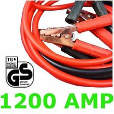 Professional Heavy Duty 1200AMP Jump Leads 5M  HGV Farm Jump Booster Cables HD