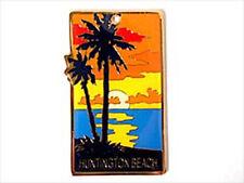 Califonia Huntington Beach sunset Souvenir Keychain
