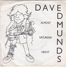 DAVE EDMUNDS - almost saturday night 45""