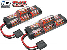 Traxxas 2926X NiMH 7C 8.4V 3000mAh Hump Pack Battery w/ iD 2-Pack ~ Stampede 4x4