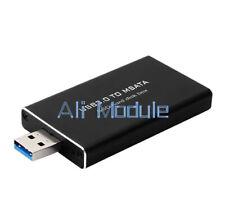 USB 3.0 to mSATA SSD Hard Disk Converter Adapter Enclosure External Case Box